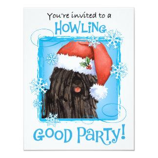 Howlidays feliz Puli Convite 10.79 X 13.97cm
