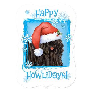 Howlidays feliz Puli Convite 12.7 X 17.78cm