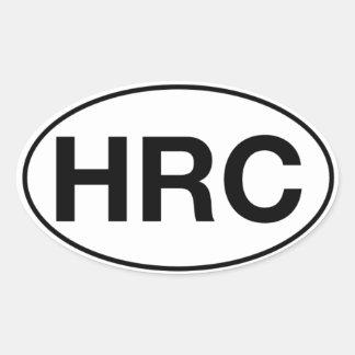 HRC - Etiquetas ovais, Matte