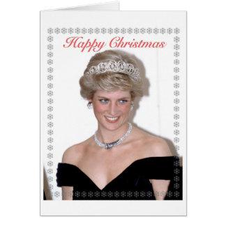 HRH a princesa do Natal de Wales Cartão Comemorativo