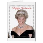 HRH a princesa do Natal de Wales Cartões