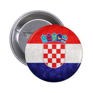 Hrvatska Bandeira de Croatia Boton