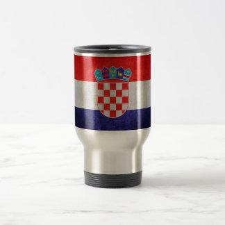 Hrvatska; Bandeira de Croatia Caneca
