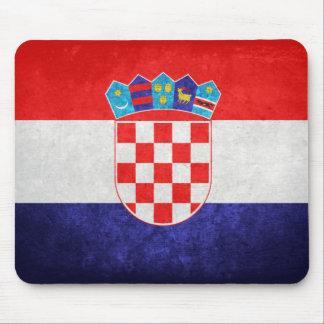 Hrvatska; Bandeira de Croatia Mousepads