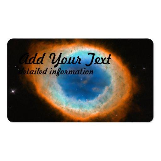 Hubble captura um anel modelos cartão de visita
