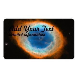 Hubble captura um anel cartão de visita