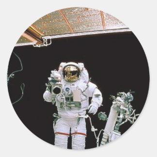 HUBBLE DA NASA EVA ADESIVOS REDONDOS