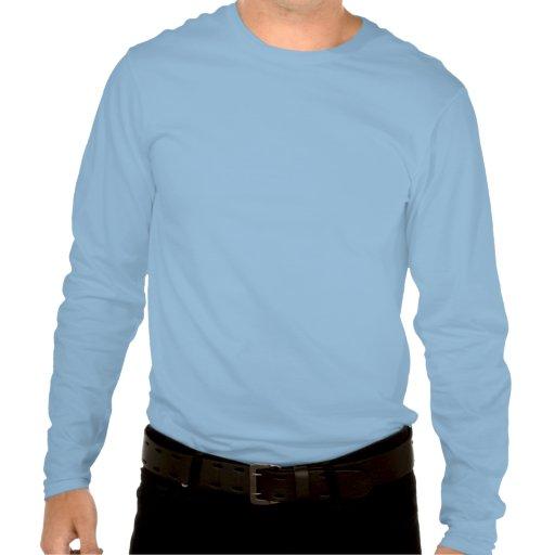 Huck e céu (esquiados) camisetas