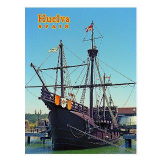 Huelva, espanha cartão postal