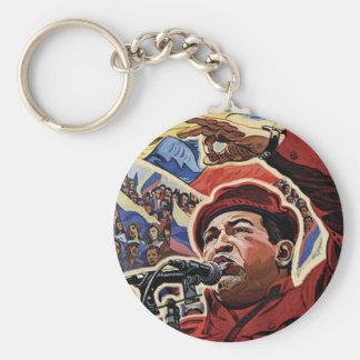 Hugo Chavez - estilo da revolução dos desenhos ani Chaveiros