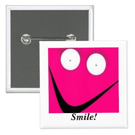 HUH, sorriso! Botons
