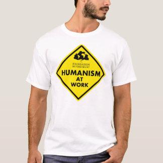 Humanismo na camisa do trabalho para ATXAHH
