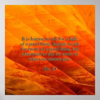 Humano - poster