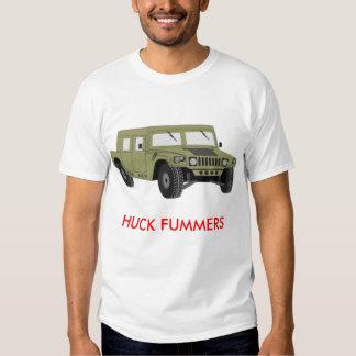 hummer, HUCK FUMMERS T-shirt