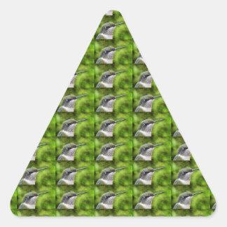 Hummer pequeno adesivo triangular