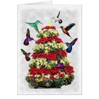 Hummers do Natal Cartão Comemorativo