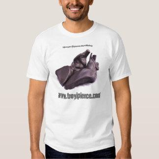 Humn figura o De-clining T-shirt