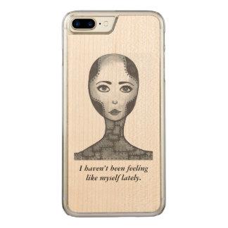 Humor, capa de telefone de madeira, iPhone,