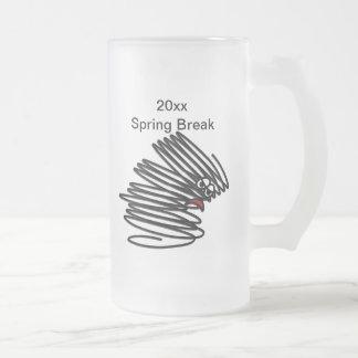 Humor das férias da primavera caneca