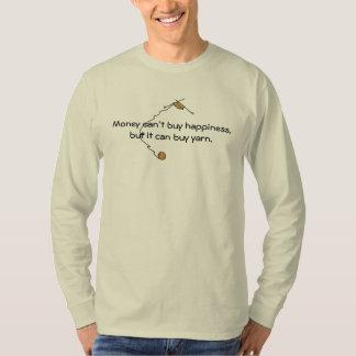 Humor de confecção de malhas camisetas