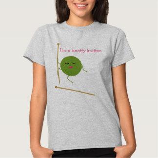 Humor de confecção de malhas tshirt