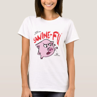Humor de Fu dos suínos Camiseta