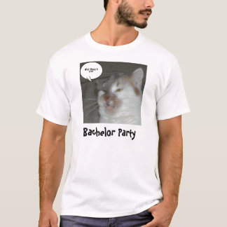 Humor do despedida de solteiro camiseta