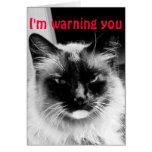 Humor do feliz dia dos namorados cartão comemorativo