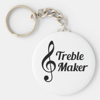 Humor do Musical do fabricante do triplo Chaveiro