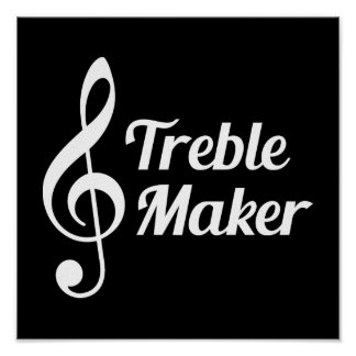 Humor do Musical do fabricante do triplo Pôster