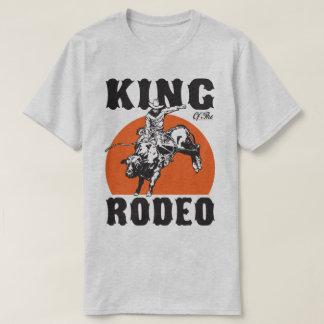 Humor do país do vaqueiro do rei Rodeio Ocidental Camiseta