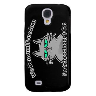 Humor engraçado do geek do gato de Schrodinger Galaxy S4 Case