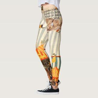 Humor SUPERIOR da ginástica Legging