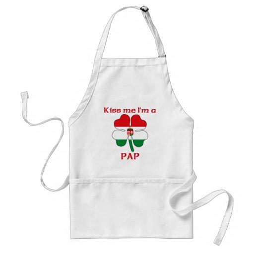 Húngaros personalizados beijam-me que eu sou Pap Aventais