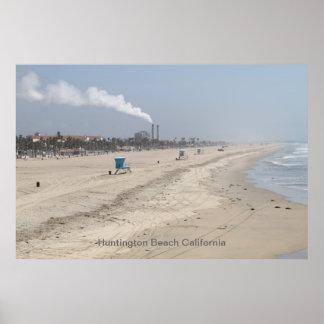 Huntington Beach Califórnia Pôster