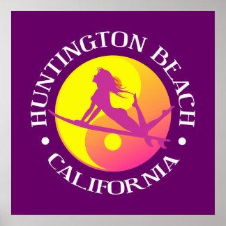 Huntington Beach Pôster