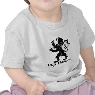 Hup Holland - leão de Holland T-shirts