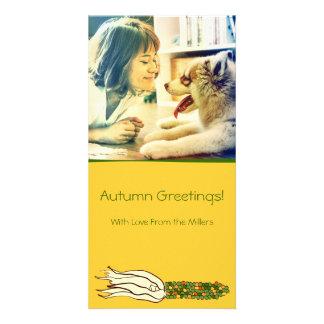 Husks de milho: Milho verde, cartões de fotos Cartão Com Foto