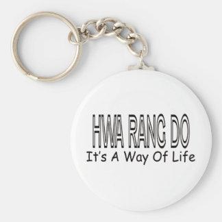 Hwa Rang fá-lo é um modo de vida Chaveiro