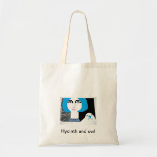 hycinth e coruja bolsas para compras