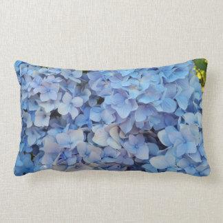 Hydrangea azul 2 almofada lombar