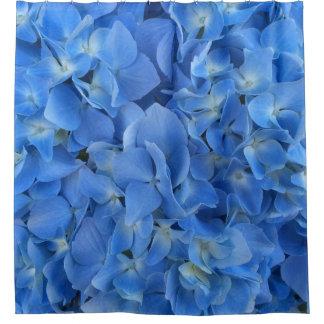 Hydrangea azul cortina para box