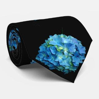 Hydrangea azul gravata