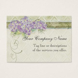 Hydrangea do Lilac do olhar do vintage - cartões