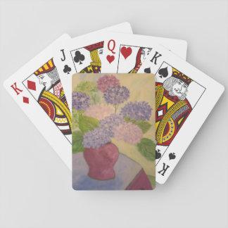 Hydrangea lunático jogo de carta
