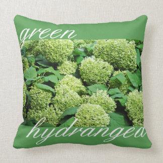 Hydrangea verde almofada