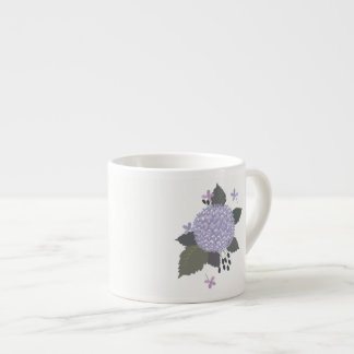 Hydrangea. Xícara De Espresso