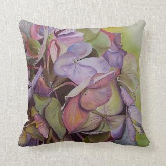 Hydrangeas - beleza de Médio-verões Almofada