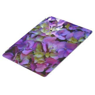 Hydrangeas roxos capa smart para iPad