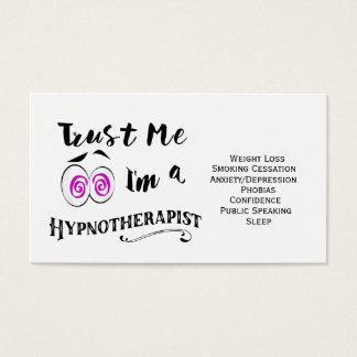 Hypnotherapist do cartão de visita de Hypnotherapy